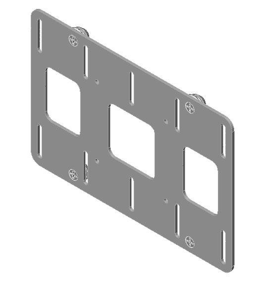 Chief Manufacturing FSB4101B Flat Panel Bracket FSB4101B