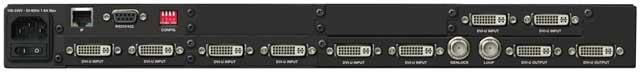 Seamless Switcher 8x DVI-U In
