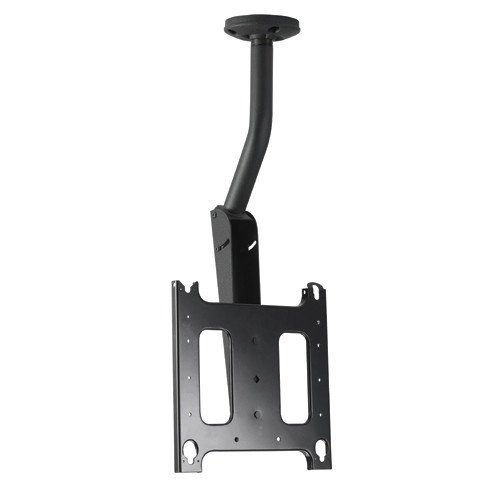 Large Flat Panel Ceiling Mount with Angled Column