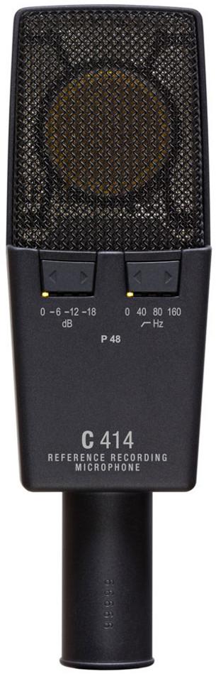 Multipattern Large Diaphragm Studio Condenser Microphone