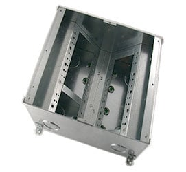 "FSR, Inc FL-500P-6 6"" Deep Floor Box FL-500P-6"