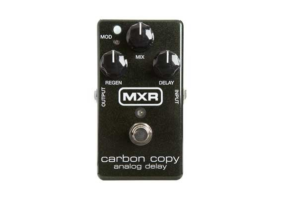 MXR Pedals M169 Carbon Copy Analog Delay Guitar Effect Pedal, Delay M169-MXR