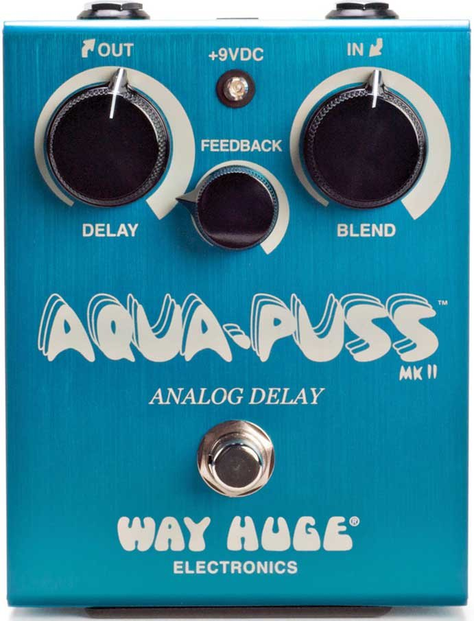 Way Huge WHE701 Aqua Puss Analog Delay Guitar Effect Pedal WHE701