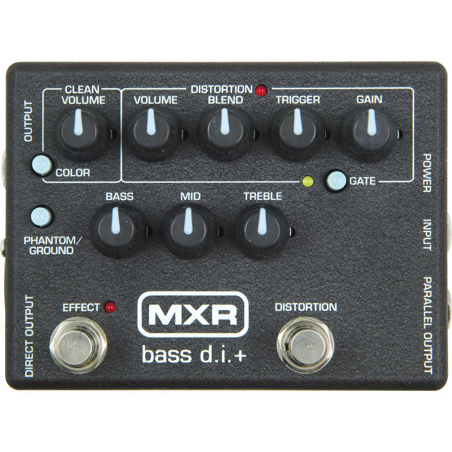 Bass Guitar Effect, DI/Distortion