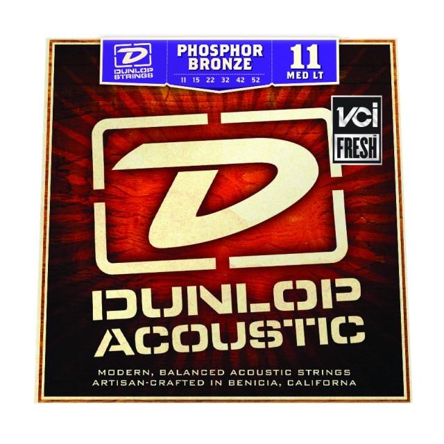 Medium Light Phosphor Bronze Acoustic Guitar Strings