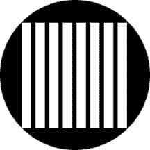Vertical Jail Bars Gobo
