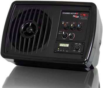 Compact PA System with Wireless Receiver
