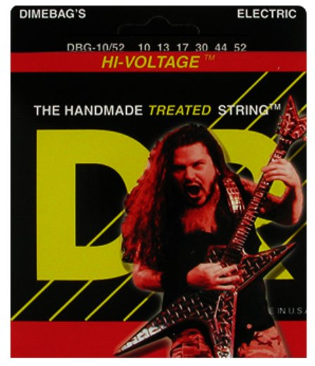 Big & Heavy Dimebag Darrell Signature Electric Guitar Strings
