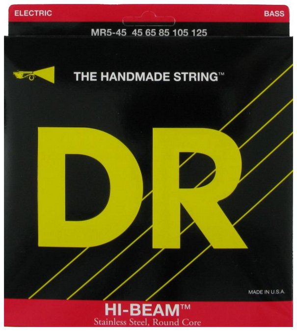 Medium Hi Beam 5-String Electric Bass Strings