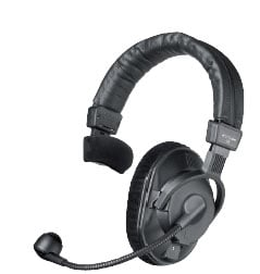 Beyerdynamic DT280-200/250-MKII Headphone with Dynamic Mic, No Cable, 701.602 DT280-200/250-MKII