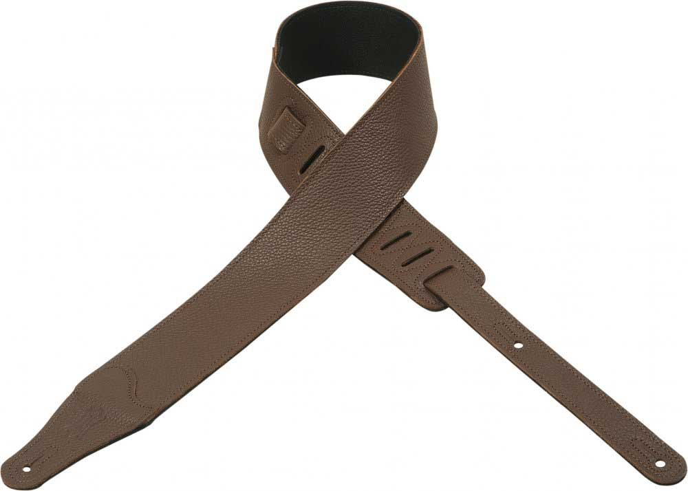 "Guitar Strap, 2 1/2"" Garment Leather"