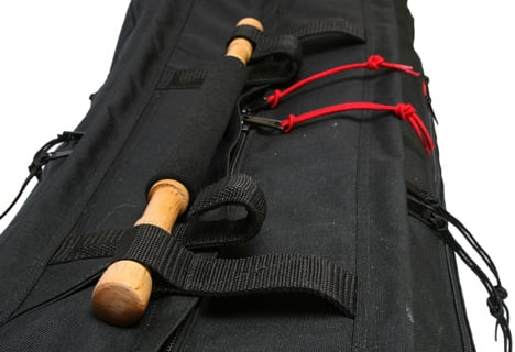 "Black 41"" Tripod Mummy Case"