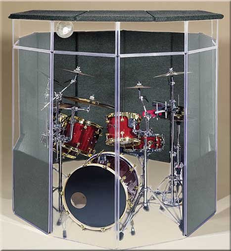 7 x 7 x 6.5 ft Drum Shield Kit with Lid