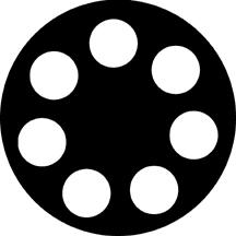 """Circles 1"" Gobo"