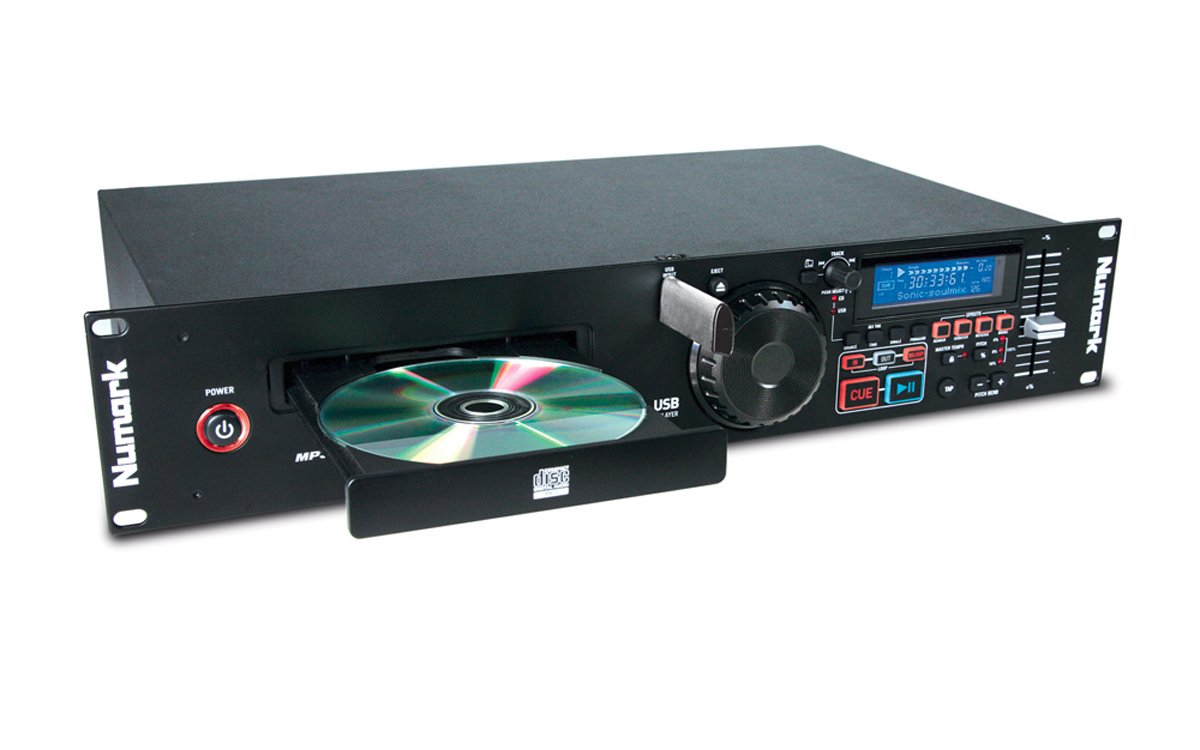 Rackmount CD/MP3 Player with USB Port