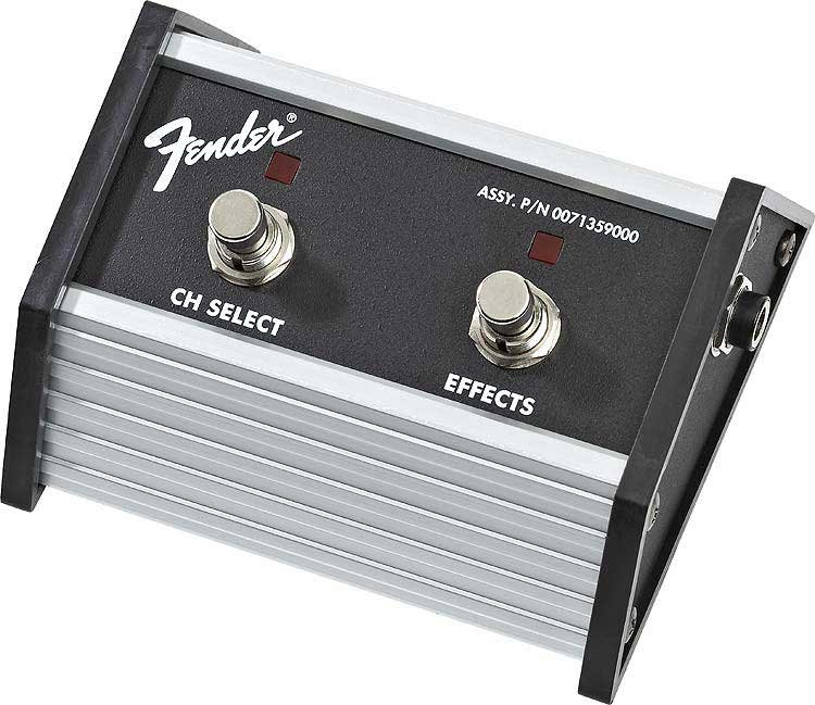 2-Button Footswitch for Fender Super Champ XD