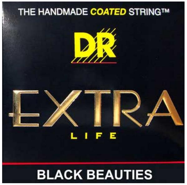 Heavy Black Beauties Coated Electric Guitar Strings