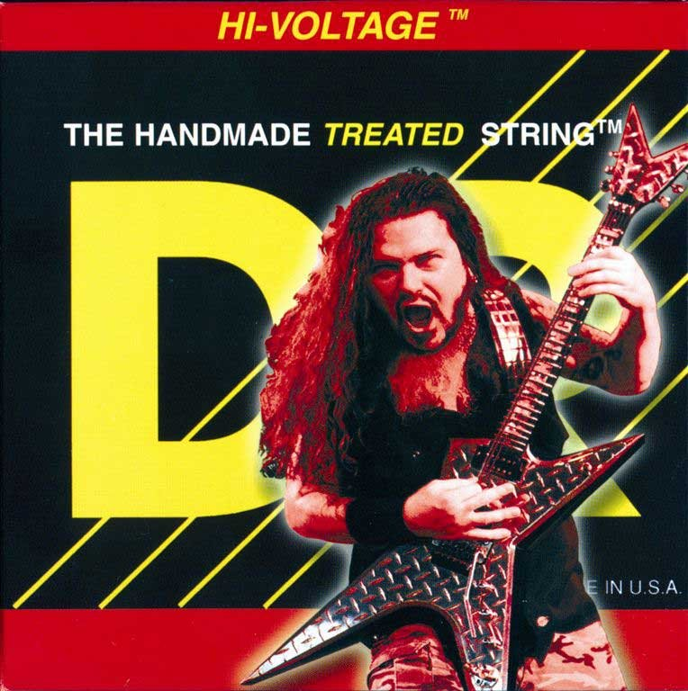 Light Dimebag Darrell Signature Electric Guitar Strings