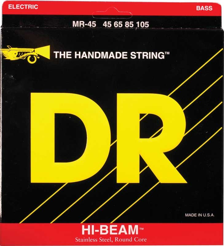 Medium Hi-Beam Stainless Steel Extra-Long Scale Electric Bass Strings