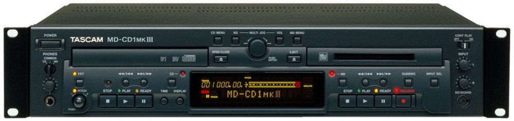 MiniDisc Recorder and CD Player