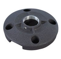 "6"" (152 mm) Speed-Connect Ceiling Plate, Black"