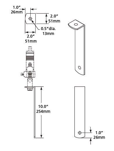 MultiPar Source Four Hanger Bracket Kit