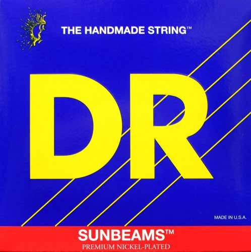 DR Strings NMR5-130  Bass Strings, Sunbeams, Nickel Plated on Round Cores, 5-String Medium 45-130 NMR5-130