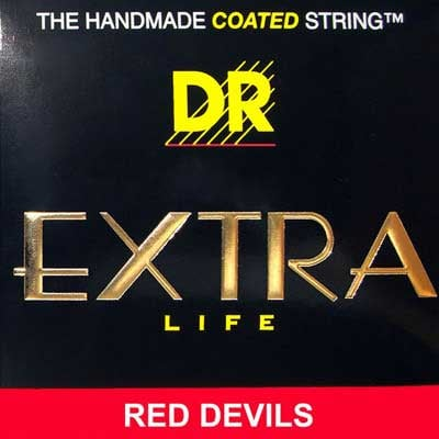 Bass Strings, Red Devils, Coated, Lite 40-100