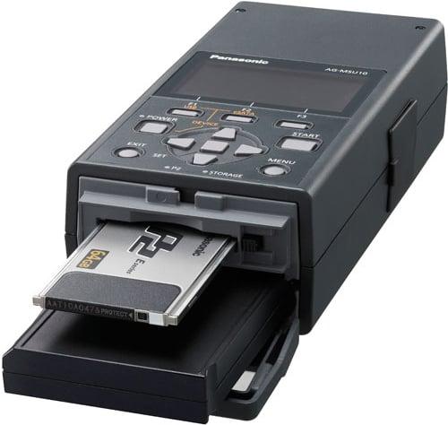 Panasonic MSU10-512SSD  AG-MSU10 with MBX10-SSD 512 GB Solid State Drive Included MSU10-512SSD
