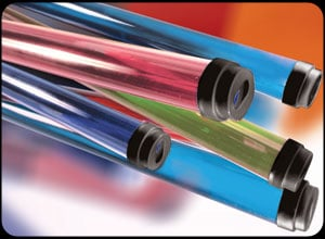"Fluorescent Gel Tube ,T12,  1 1/2"" x 48"""