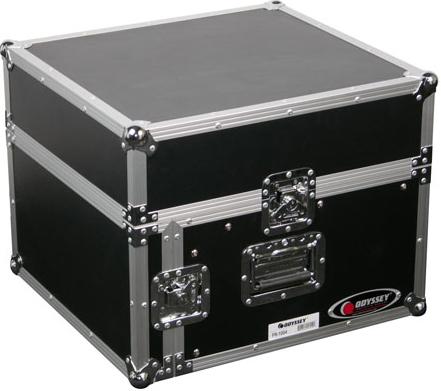 10RU Top, 2RU Bottom Combo Rack Case