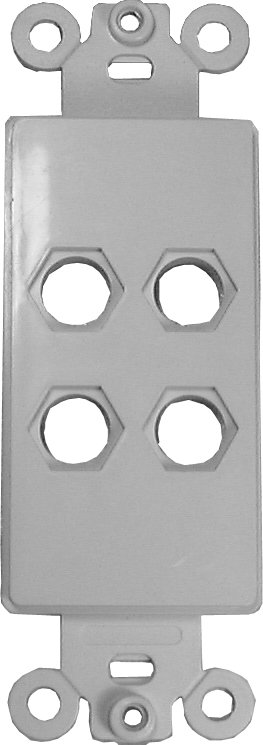 Quick Fit Custom Design Insert Plate with 4 holes