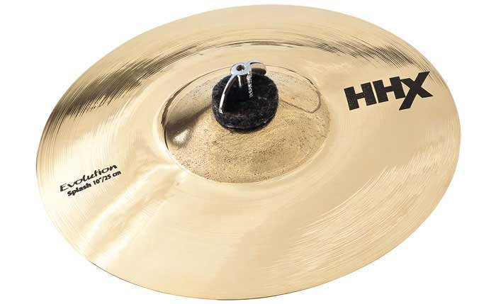 "Sabian 11005XEB 10"" HHX Evolution Splash Cymbal in Brilliant Finish 11005XEB"