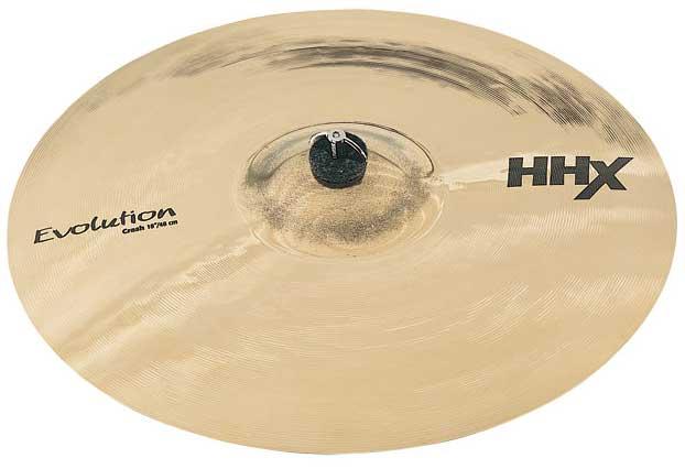 "18"" HHX Evolution Crash Cymbal in Brilliant Finish"