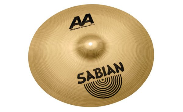 "Sabian 21808 18"" AA Medium Crash Cymbal in Natural Finish 21808"