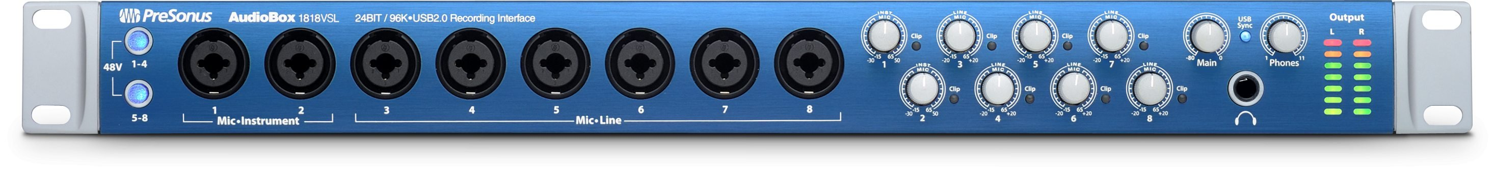 18 x 18 USB 2.0 Recording System