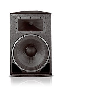 "JBL AC2215/00 15"" Compact 2-Way Install Speaker with 100°x100° Coverage AC2215/00-BLACK"