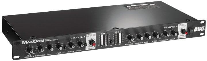 Dual Channel Compressor, Limiter, Gate with Sonic Maximizer