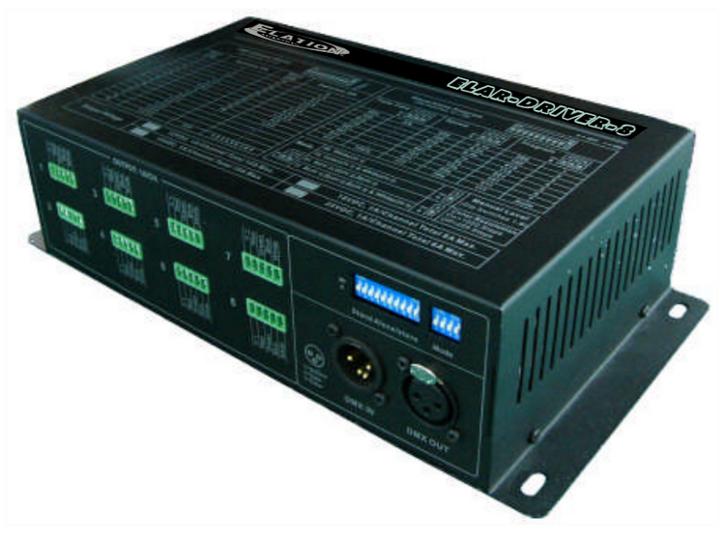 8 Output LED Driver, 12VDC RGB/RGBW