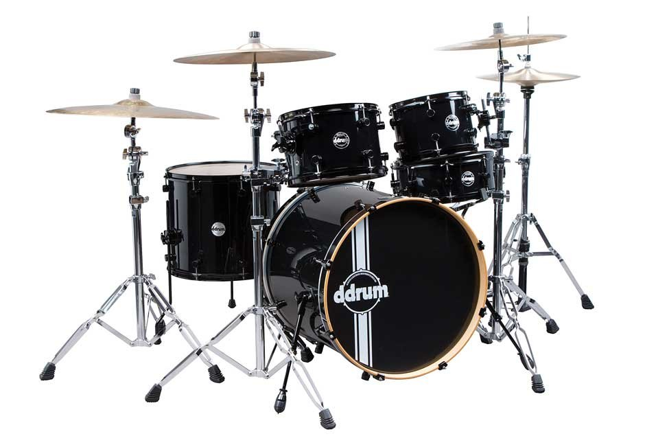 5-Piece Reflex Series Alder Shell Pack in Black