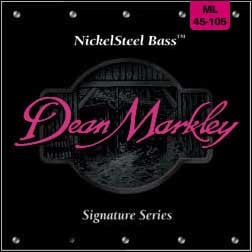 Dean Markley 2604A Medium Light Nickel Steel Electric Bass Strings 2604A