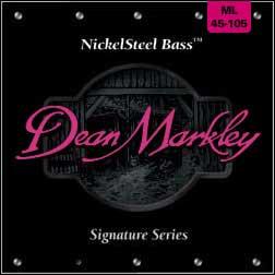 Medium Light Nickel Steel Electric Bass Strings