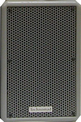 250W 2-Way Full-Range Speaker in Grey