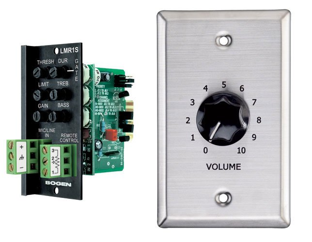 Line/Mic Input Module with Wallplate VC