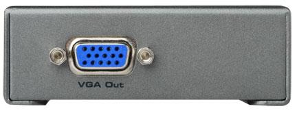 DVI to VGA Converter Box