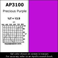 Apollo Design Technology AP-GEL-3100 Gel Sheet, 20x24, Precious Purple AP-GEL-3100
