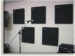 """22"""" x 24""""x 1.5"""" Sorber Acoustic Panel in Dark Grey"""