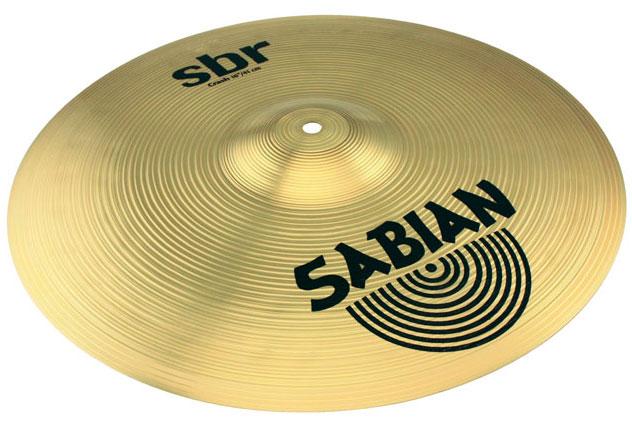 "16"" SBR Crash Cymbal in Natural Finish"