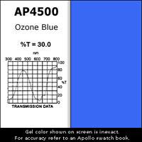 """Gel Sheet, 20""""x24"""", Ozone Blue"""