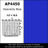 """Gel Sheet, 20""""x24"""", Heavenly Blue"""